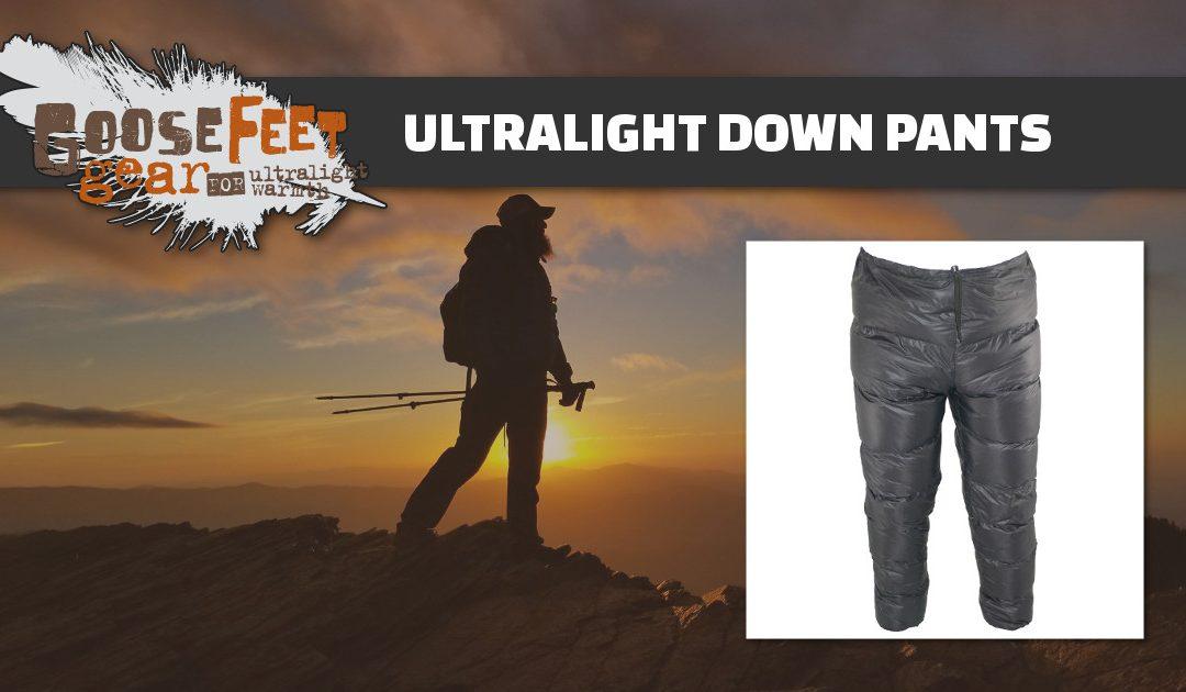 Mens Down Pants