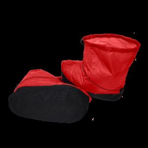 Goosefeet Gear Over-Booties in Red