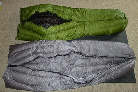 Goosefeet Gear Custom Down - Ultralight Down Quilts