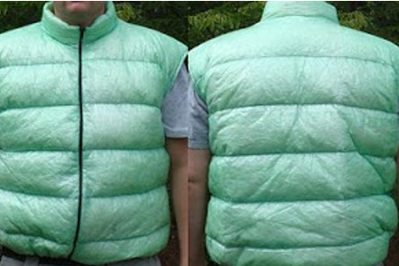 GooseFeet Gear Custom Cuben Fiber Vest with Removable Sleeves