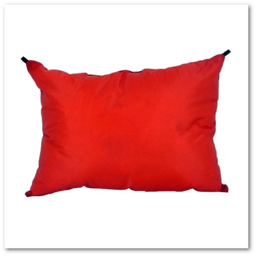 GooseFeet Gear - Down Pillow - Red