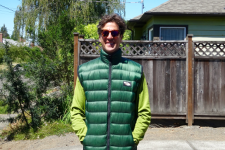 Goosefeet Gear Custom Down Gear - Full Zip Down Vest