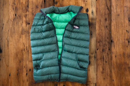 FULL ZIP DOWN VEST